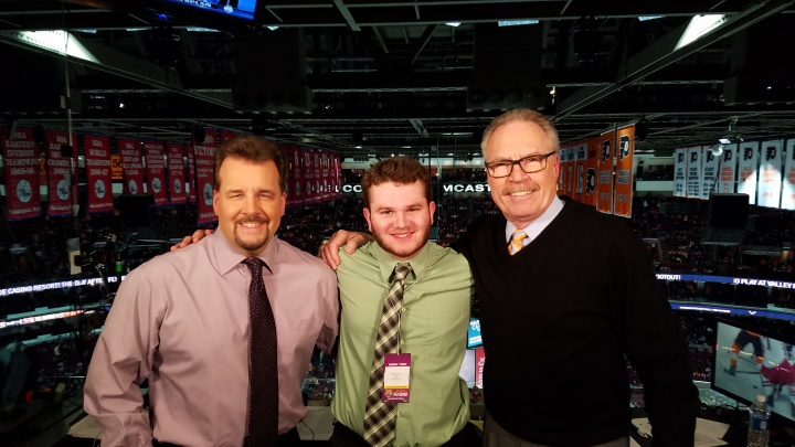 Jim Jackson, Bill Clement, and I